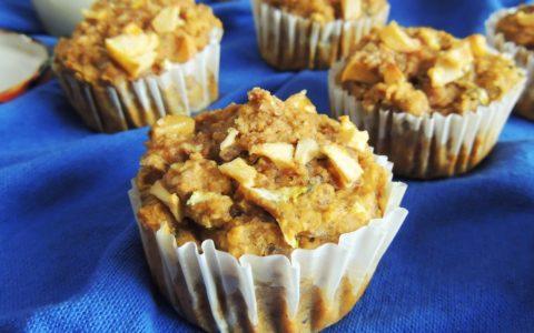 sweet potato zucchini apple muffins 6